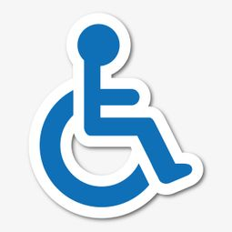 disability friendly badge